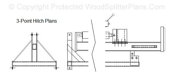 Cat 0 3 Point Hitch Dimensions : Point hitch design plans categories and