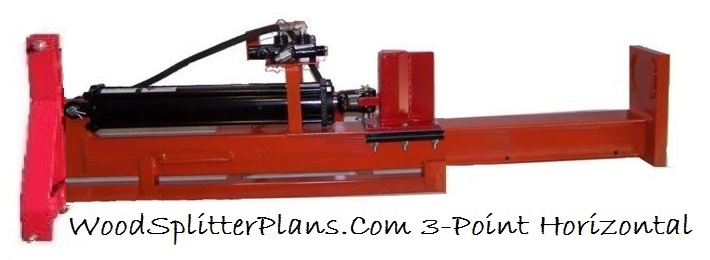 3-Point Horizontal Log Splitter Design Plans