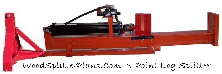 3-Point Vertical Log Splitter Design Plans