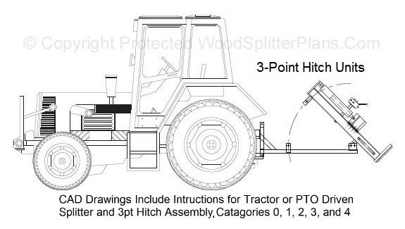 hydraulic log splitter plans
