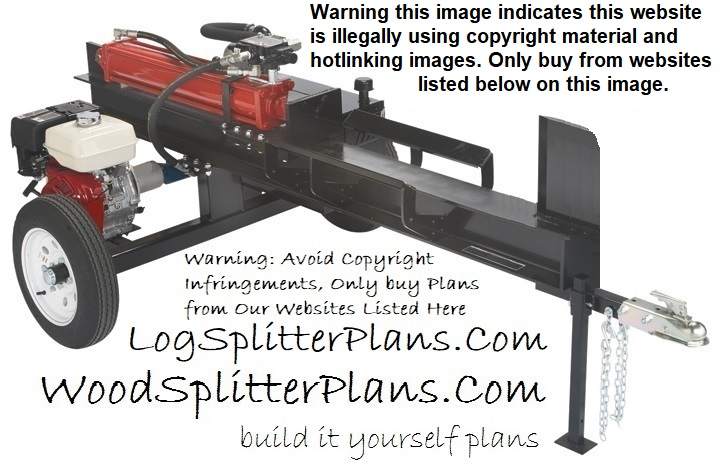 the log splitter components log splitters - Home Built Log Splitter Plans