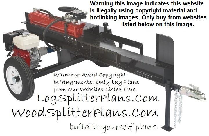 Hightop Log Splitter Plans