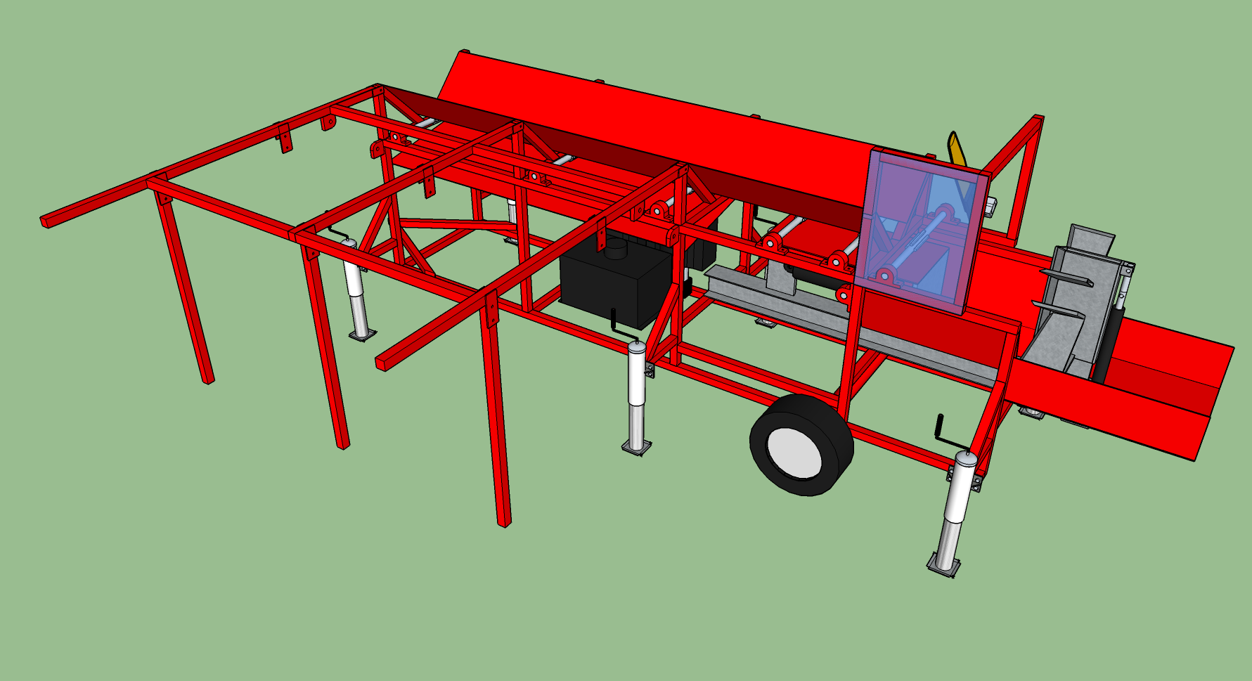 Firewood Processor Plans