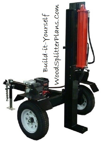 Vertical Log Splitter Design Plans