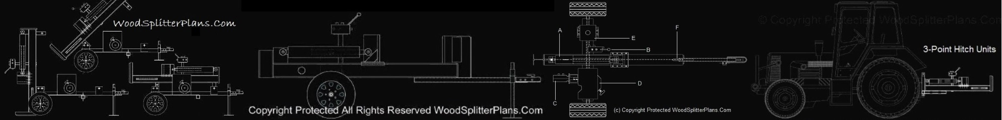 Wood Splitter Plans